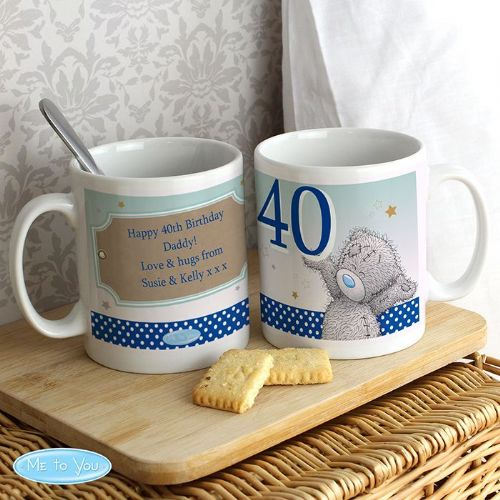 Personalised Me To You Big Age Male Mug